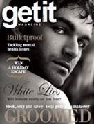 Cover of the August issue of Getit Magazine